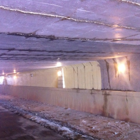 Legacy HWY Pedestrian Tunnel Waterproofing